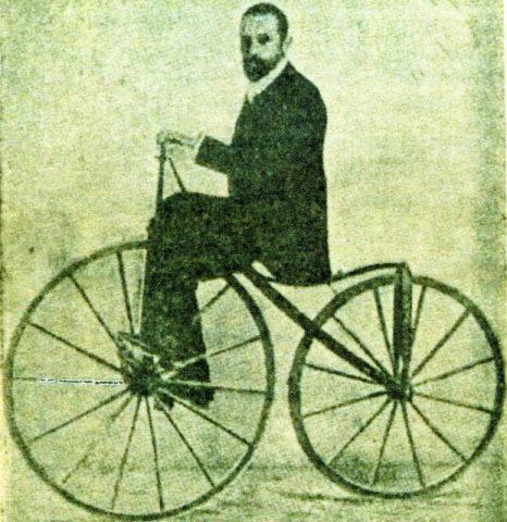 Historia de la bicicleta (visión de 1900).